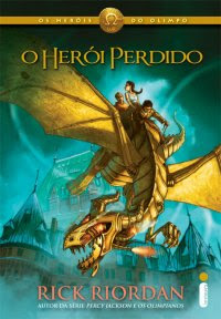 Livro O Herói Perdido: Os Heróis do Olimpo (Rick Riordan)