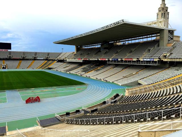 Barcelona, Stadion Olimpijski