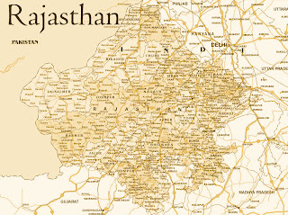 Map of Rajasthan