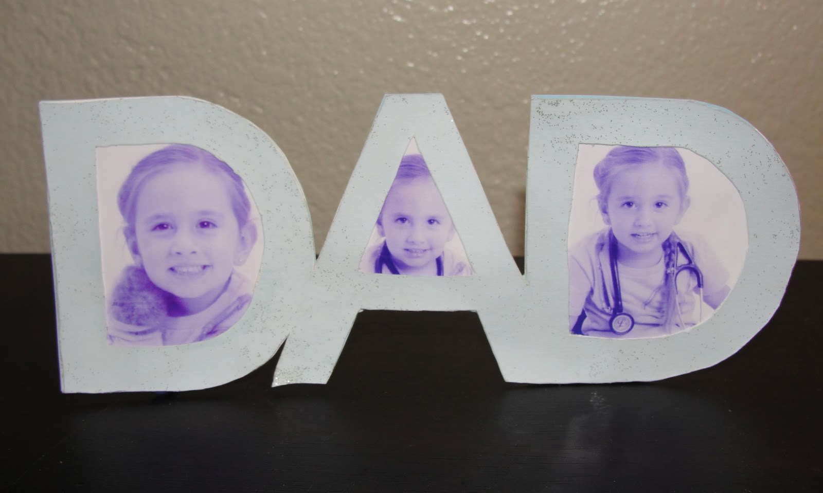 diy for mommies dad frame gift