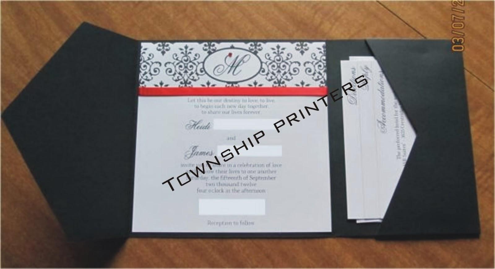 simple elegant diy wedding invitations. heart laser cut gatefold, Wedding invitations