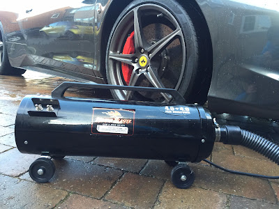 My Metro-Vac Master Blaster, air drier.