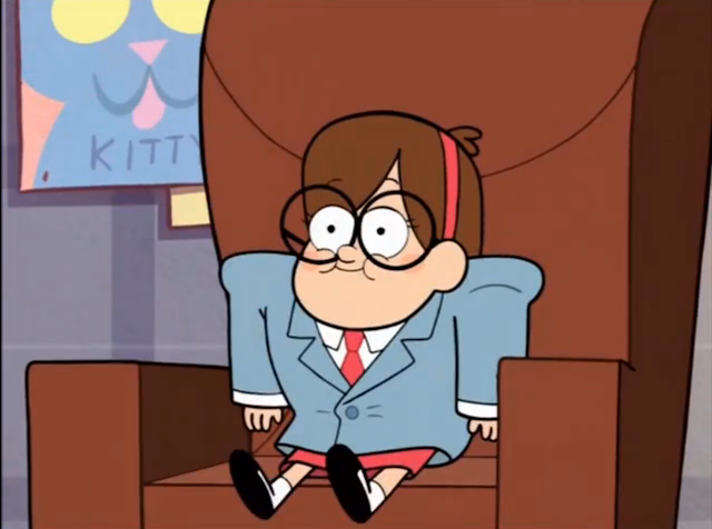 With those Swifty Lazar glasses, Mabel means fucking business.