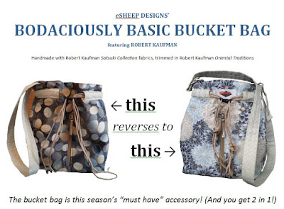 Bodaciously Basic Bucket Bag by eSheep Designs Sale Sheet