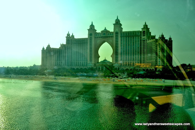 A closer look at Atlantis The Palm