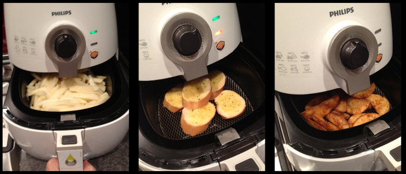 philips air frying machine