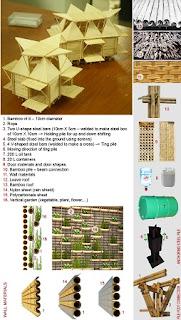 Casas de Bambú a Bajo Costo en Vietnam, Arquitectura Sostenible