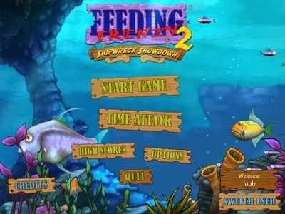 Feeding Frenzy - Free Downloadable Games and Free Action Games from