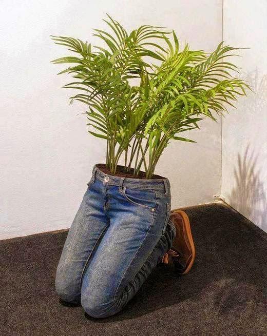 pot bunga unik: 7 pot bunga unik dan kreatif berbahan