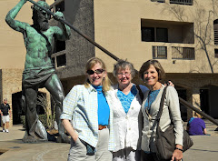 3 from Aberdeen SD--Linda, Judy and Paula, with King Neptune.