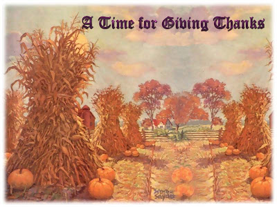Free Thanksgiving PowerPoint Background 11