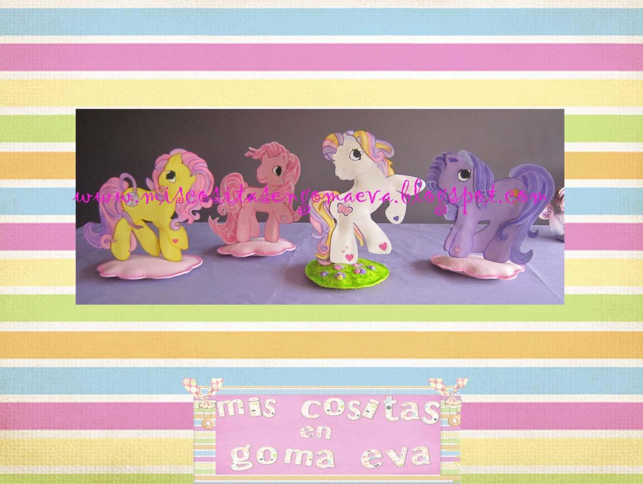 Pequeñas pegatinas de mi pequeño pony para imprimir