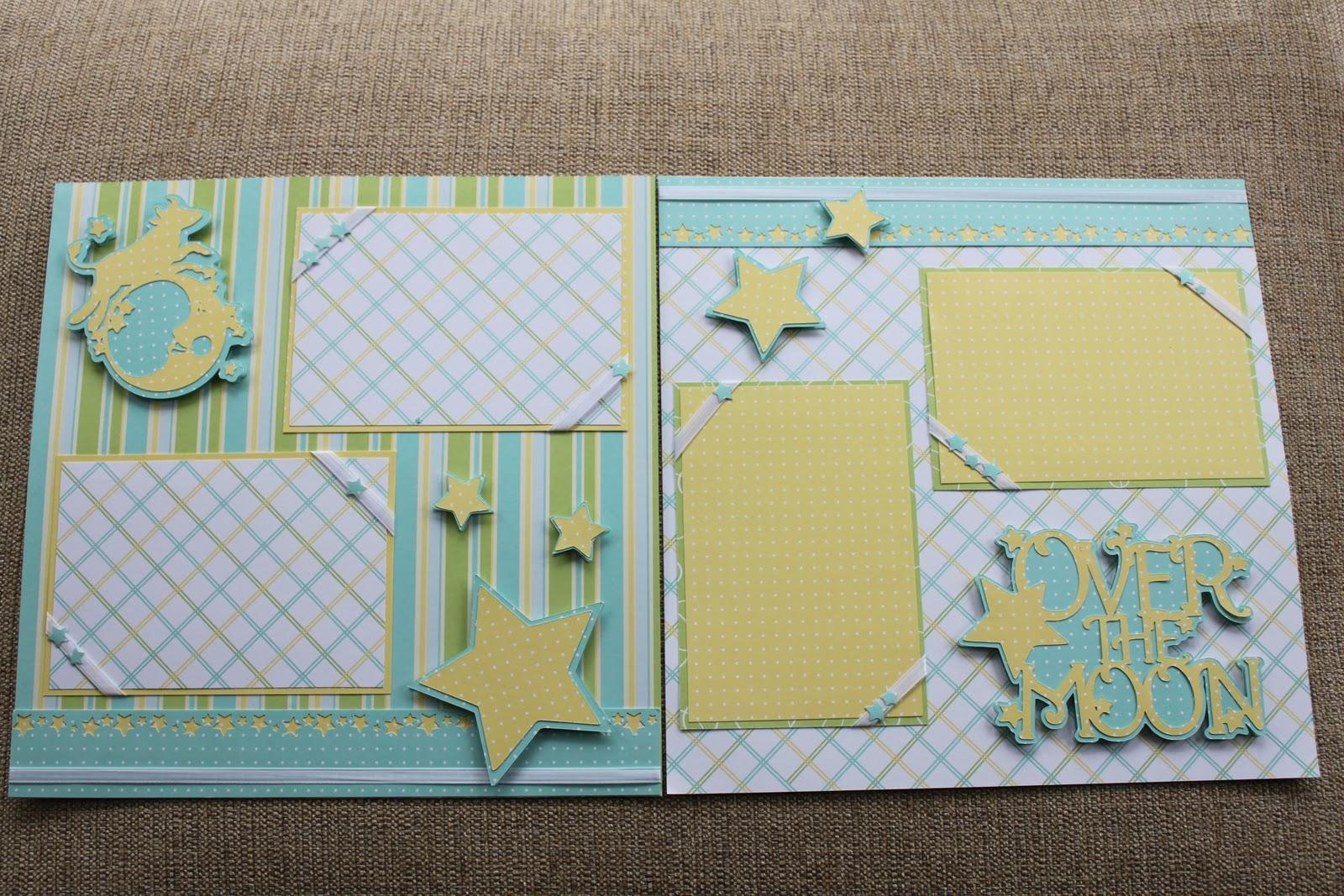 Baby Boy Scrapbook Layout Ideas