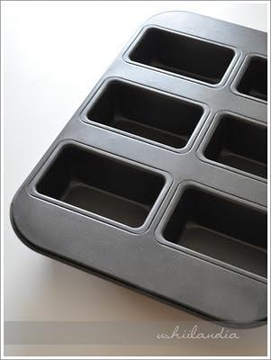 foremki do ciastek i formy do pieczenia ciast - przewodnik (foremka do minichlebków, minikeksów)
