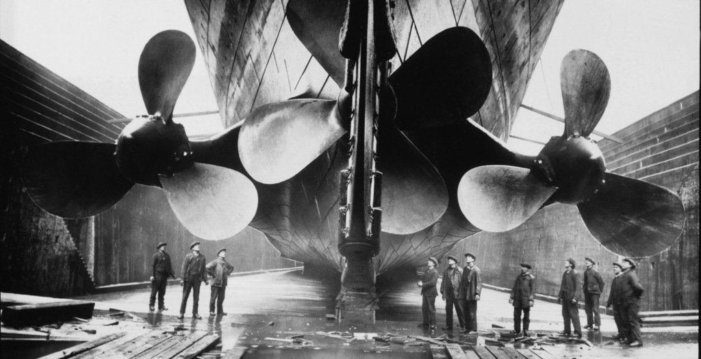 Titanic a ship that s being remembered - Construccion del titanic ...