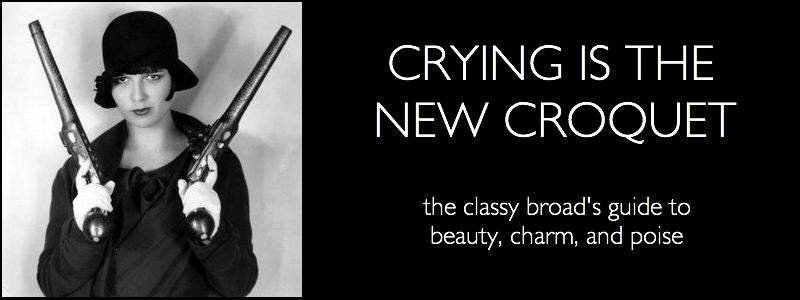 Crying is the New Croquet