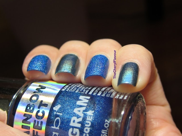 Nabi Navy Blue vs China Glaze Take a trek