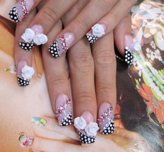 Nail art designs creative nails 001creative nail designs prinsesfo Choice Image