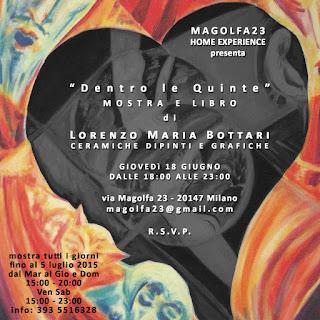Presentazione di Dentro le Quinte di Lorenzo Maria Bottari