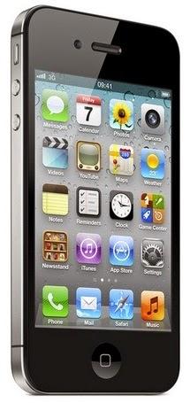 Apple iPhone 4 Smartphone iOS harga Rp 3 Jutaan