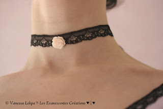 vampire bijoux dentelle noire calais piece unique lingerie sexy femme sorcière victorien