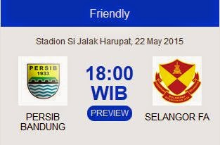 Persib Bandung vs Selangor FA