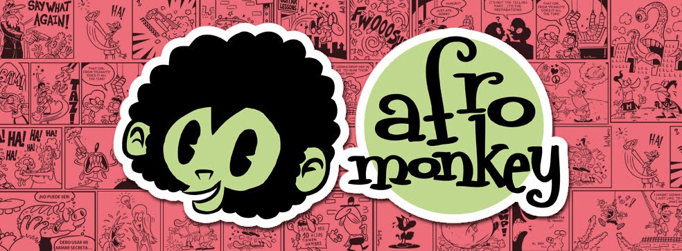 Afro Monkey Comics