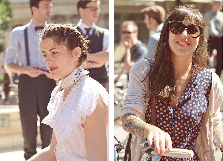 Ride Bérêt-Baguette 2013 Helloitsvalentine french blogger ride bicycle Paris event cruise