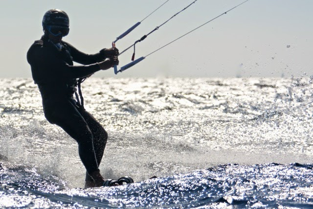 "Record sur ""The Run"" pour Mayeul Riffet en kite surf."