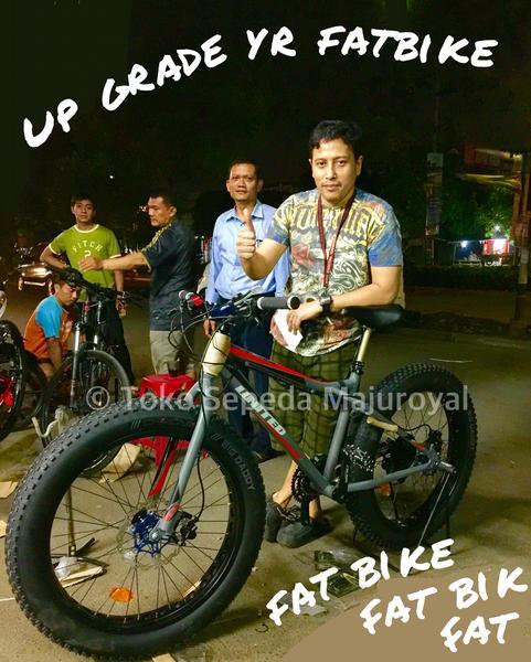 Toko Sepeda Online Majuroyal: Fatbike Fatman Fat Bike