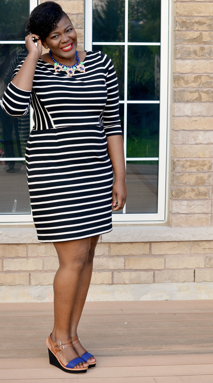 5 ways to wear a striped dress for spring