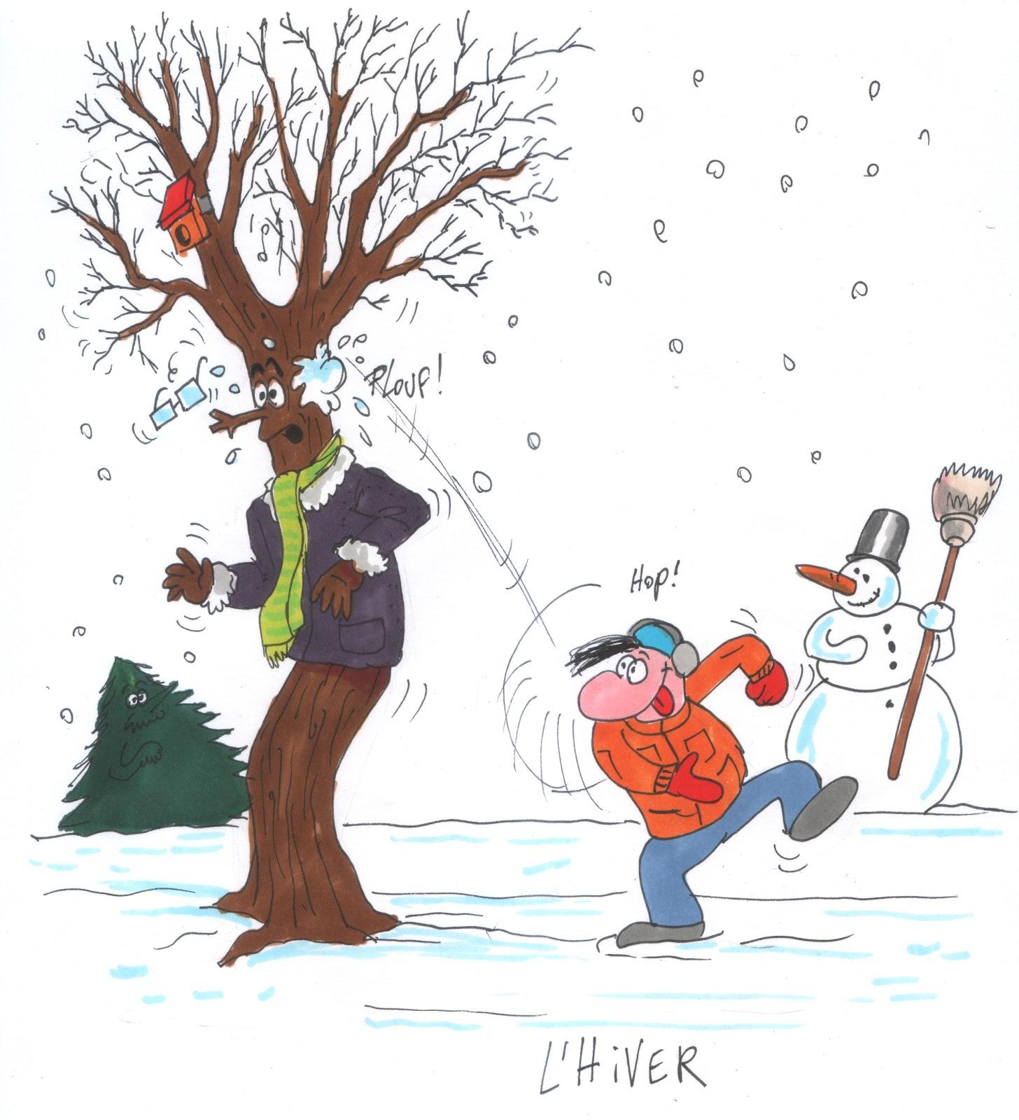 Le monde de catherine cointe c 39 est la belle vie pour les arbres - Dessin de l hiver ...