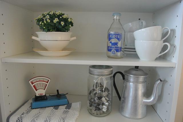 Othelies hjem: gammelt kjøkkenskap får nytt liv...