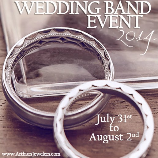 Arthurs Jewelers ArtCarveds Inside Out Wedding Bands