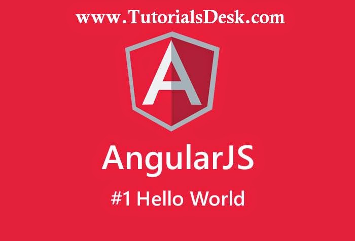 AngularJS : Hello World Example