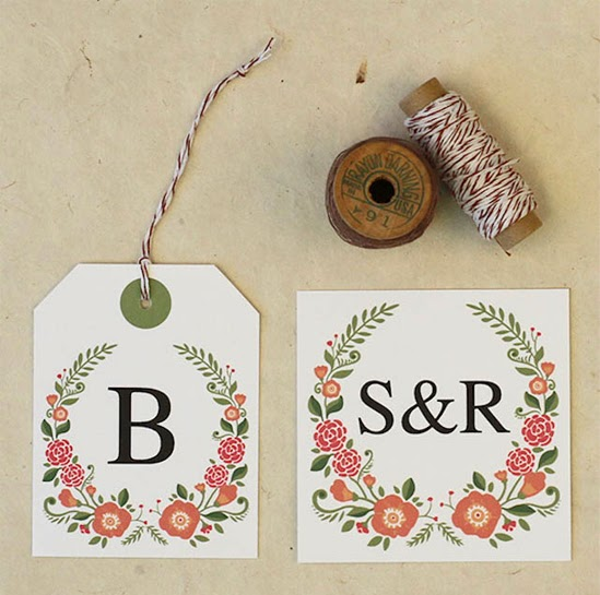 oh!myWedding: Imprimibles gratis para personalizar la boda