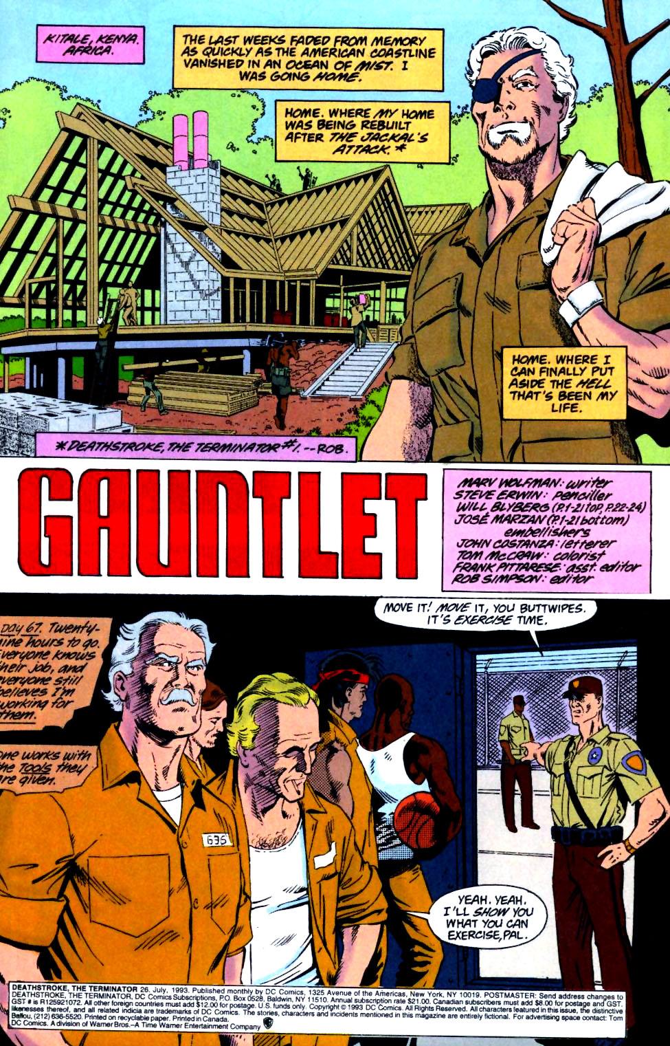 Deathstroke (1991) Issue #26 #31 - English 2