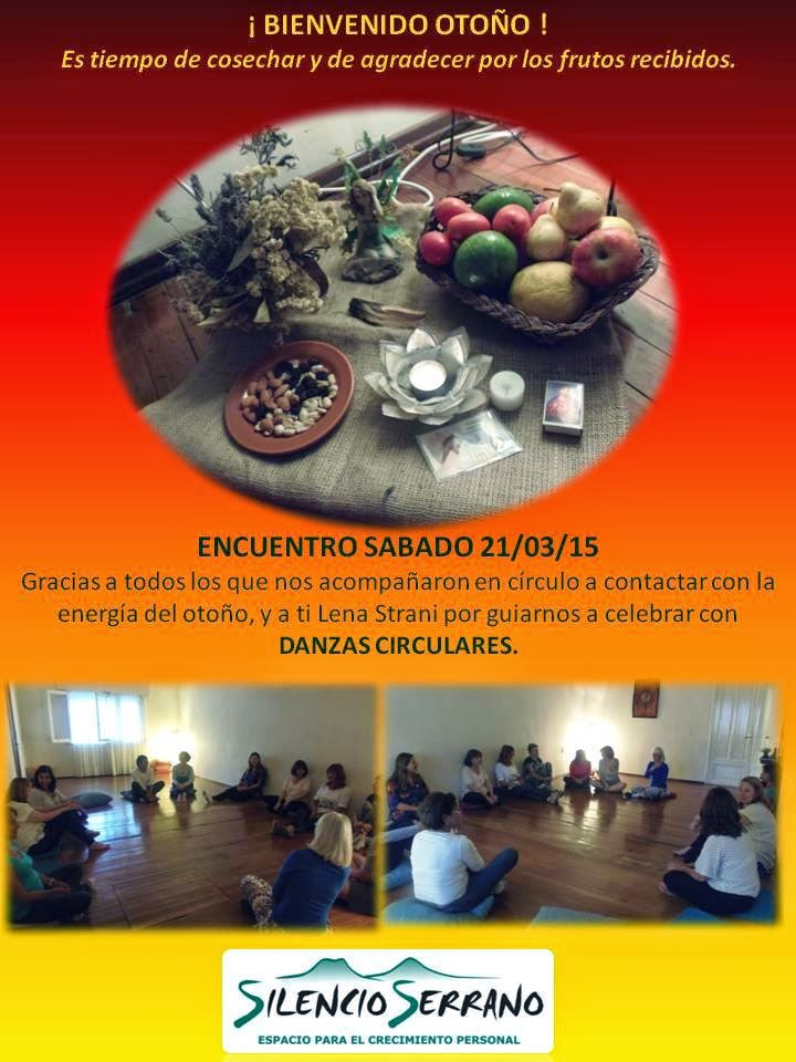 Celebración del otoño en Silencio Serrano, marzo 2015