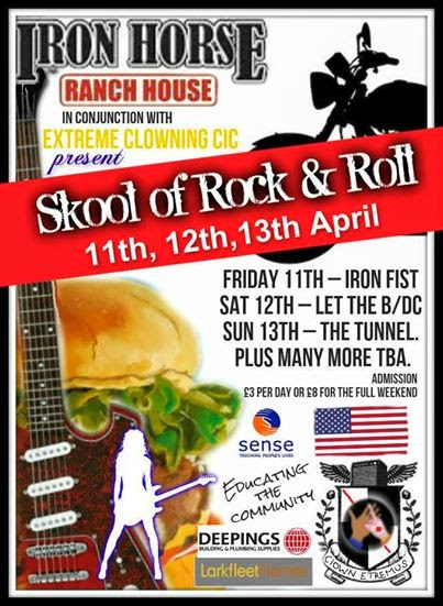 Skool of Rock and Roll – 11th, 12th, 13th April 2014