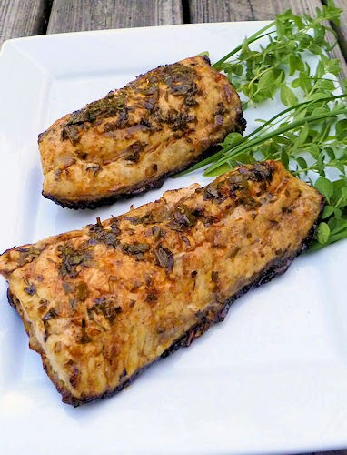 Grilled Herb Butter Redfish | Ms. enPlace