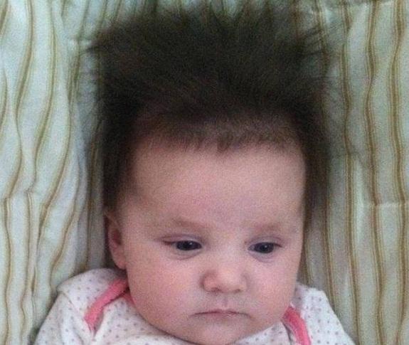Best Cute Babies Having A Bad Hair Day