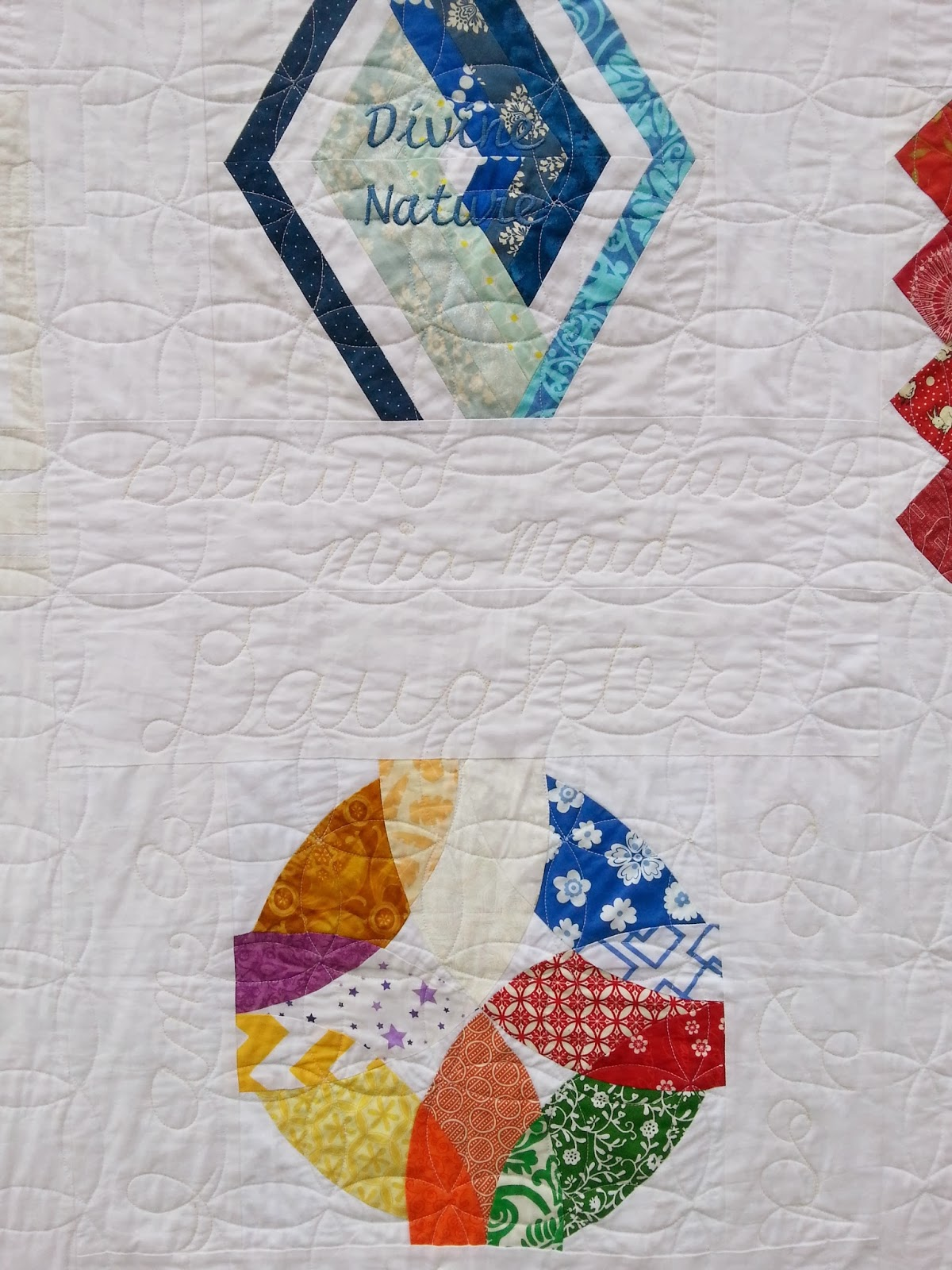 LDS YW Values Quilt
