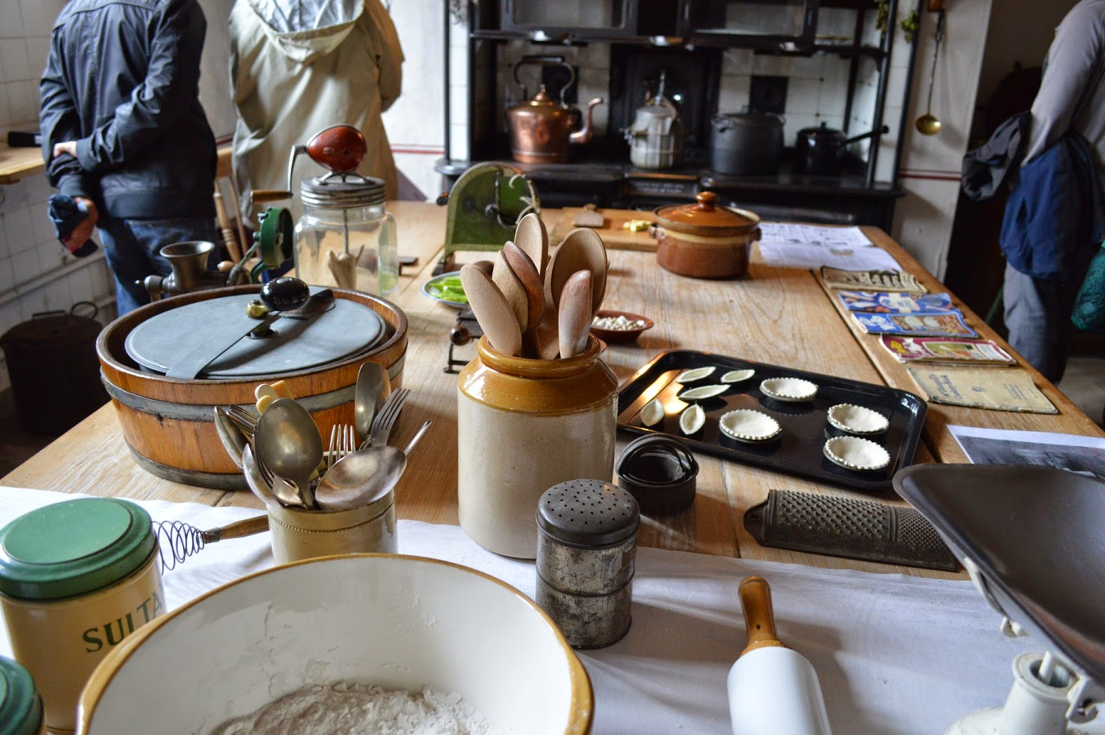 kitchen, Sudbury Hall, photos, photograph, historical properties, BBC Pride and Prejudice film location, National Trust, review, derby, 17th century, inside, outside, visit