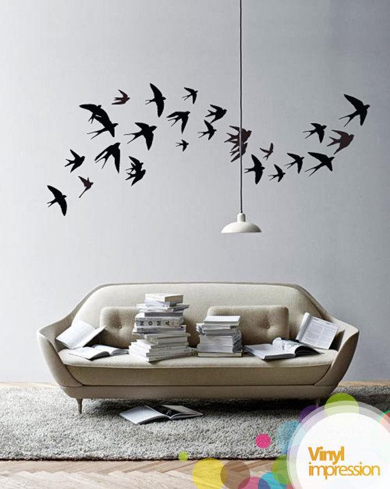 Decorando dormitorios fotos de vinilos decorativos para - Vinilos decorativos dormitorio ...