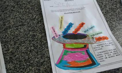 Pequenos da Educação Infantil aprendem sobre valores
