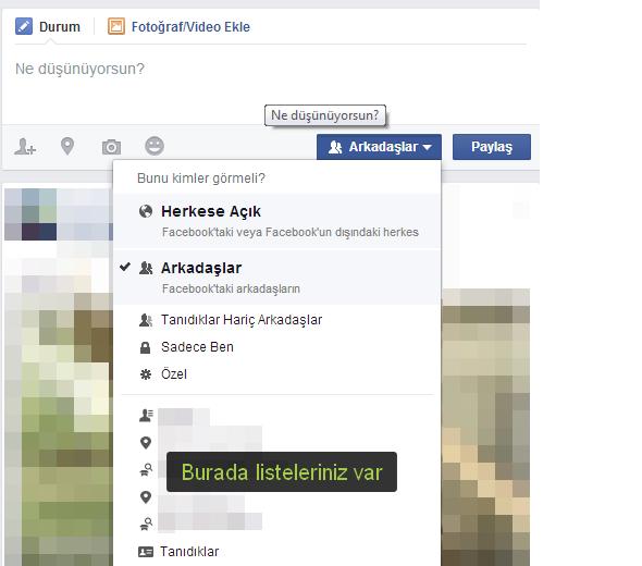 Facebook'ta takip özelliği nasıl kapatılır?