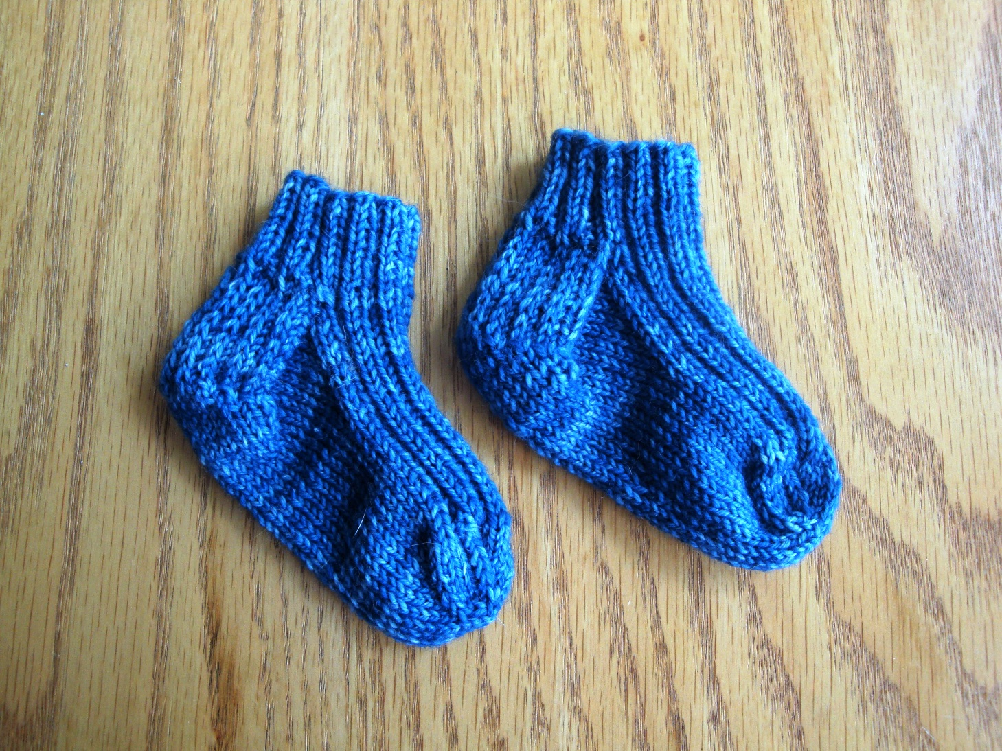 Great Baby Sock Pattern - Amy's Personal Homepage