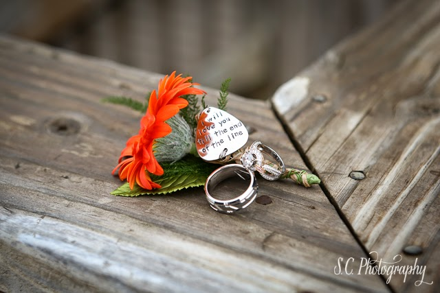 Fisherman boutonnier, flower, wedding