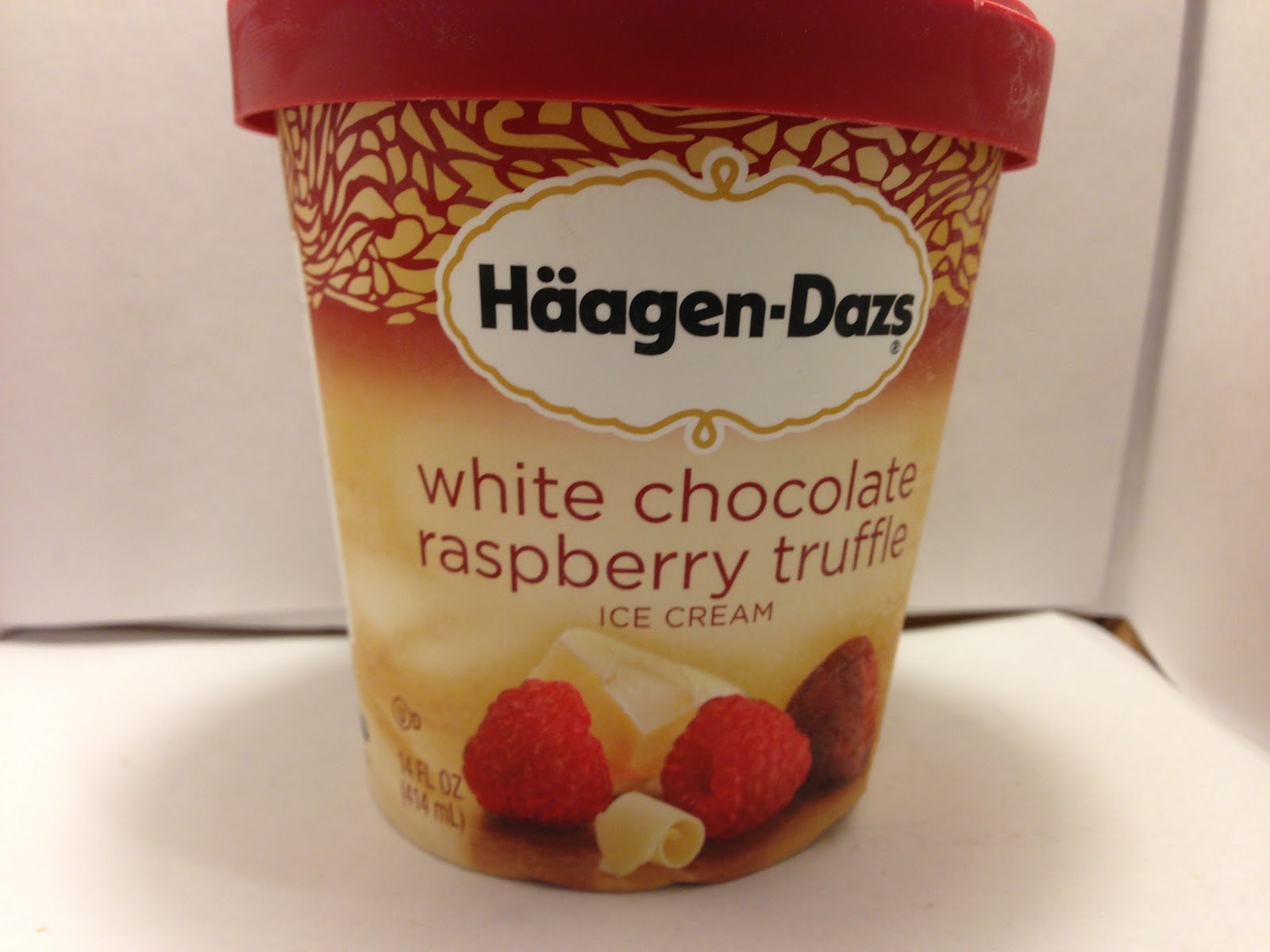 Crazy Food Dude: Review: Haagen-Dazs White Chocolate ...