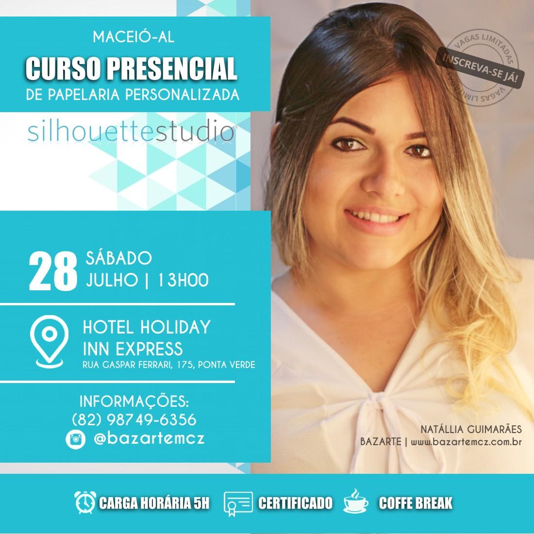 CURSO PRESENCIAL DE PAPELARIA PERSONALIZADA